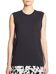 Marc By Marc Jacobs Favorite Cotton Muscle Tee Black
