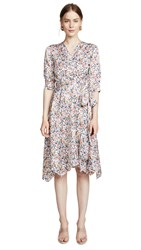Edition10 Printed Wrap Dress Floral