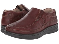 Drew Shoe Bexley Brown Tumbled Men's Slip On Dress Shoes