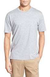 Men's Brooks Brothers Supima Cotton Crewneck T Shirt Grey