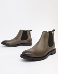 Base London Havoc Chelsea Boots In Grey