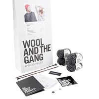 Wool And The Gang Wilson Hat Knit Kit Shackwell Grey