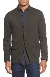 Men's Apolis Alpaca Blend Cardigan Olive