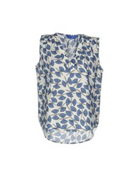 Anonyme Designers Tops Blue