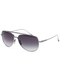 Dita Flight.004 Sunglasses Black Palladium And Dark Grey