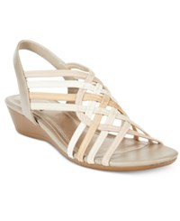 Impo Refresh Stretch Wedge Sandals Women's Shoes Praline Multi