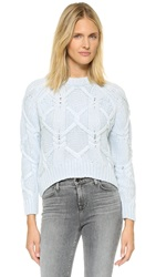 Finders Keepers White Lies Knit Sweater Seafoam