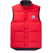 Canada Goose Garson Quilted Shell Down Gilet Red