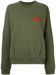 P.E Nation Remainder Sweatshirt Green