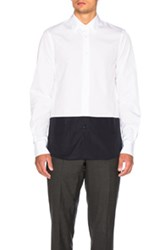 Marni Color Block Shirt In White