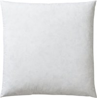 Cb2 Feather Down 18'' Pillow Insert