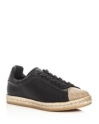 Alexander Wang Rian Espadrille Lace Up Sneakers Black