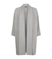 Eileen Fisher Cashmere Long Cardigan Female Grey