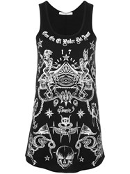 Givenchy Tattoo Print Vest Black