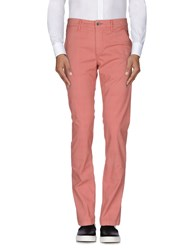 Camouflage Ar And J. Trousers Casual Trousers Men Coral