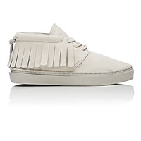 Clear Weather Men's Fringed One O One Sneakers Nude