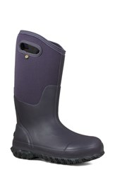 Bogs Classic Tall Matte Insulated Rain Boot Eggplant