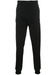Les Benjamins Slim Fit Track Pants Black
