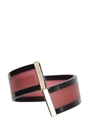 Emporio Armani Resin Bracelet Red Black
