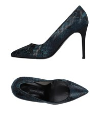 Gianmarco Lorenzi Pumps Slate Blue