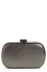 Whiting And Davis Mesh Oval Minaudiere
