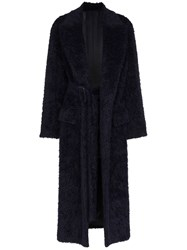 Joseph Paddington Belted Coat Blue