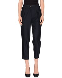Erika Cavallini Semi Couture Erika Cavallini Semicouture Trousers Casual Trousers Women Dark Blue