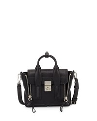 Pashli Mini Leather Satchel Bag Black 3.1 Phillip Lim Black Nickel