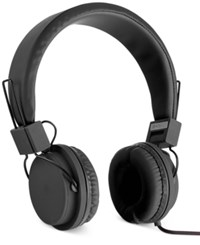 Polaroid Foldable Headphones Black