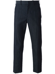 Neil Barrett Denim Effect Chinos