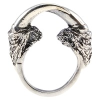 Eilisain Jewelry Owl Talon Arc Ring Silver