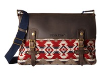 Pendleton Mineral Messenger Bag Mountain Majesty Messenger Bags Brown
