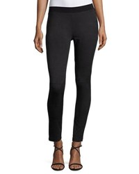 Vince Camuto Faux Suede Leggings Black