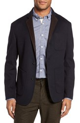 Billy Reid Men's Archie Double Face Wool Sport Coat Navy