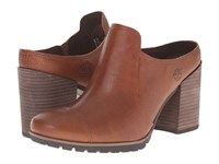 Timberland Swazey Clog Wheat Forty Leather Women's Boots Brown