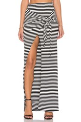 De Lacy Monica Maxi Skirt Black And White
