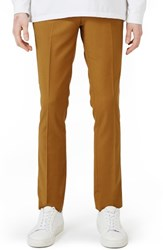 Topman Men's Ultra Skinny Fit Suit Trousers Yellow