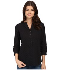 Christin Michaels Rouen Top Black Women's Clothing