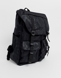 3ddc2ace99d9 Herschel Supply Co Buckingham 33L Camo Print Backpack In Black