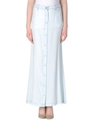 Patrizia Pepe Long Skirts Sky Blue