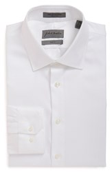 John W. Nordstrom Men's Trim Fit Dress Shirt White