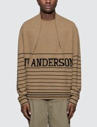 J.W.Anderson Jw Anderson Logo Knitted Jumper