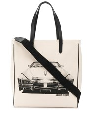 Golden Goose Car Print Tote 60