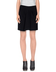 Armani Jeans Mini Skirts Black