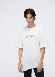 Vetements 'S Saturday T Shirt In Off White Size Small 100 Cotton Off White