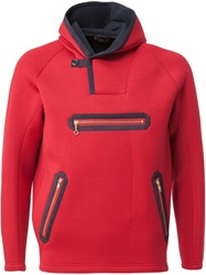 Kolor Hooded Zip Sweater Red