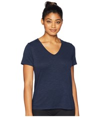 Tasc Performance St. Charles V Neck Short Sleeve Tee Classic Navy T Shirt