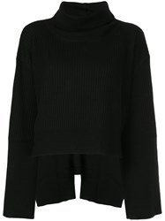 Taylor Cape Sleeve Jumper Black