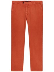 Jaeger Garment Dyed Slim Fit Chinos Fox