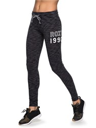 Roxy Sometimes Lazy Leggings Charcoal